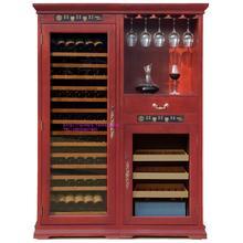 紫藤堡ZTB-550CW实木恒温恒湿组合酒柜雪茄柜红酒柜恒温酒柜