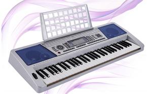 正品美科61键电子琴MK939专业演奏型力度键成人儿童教学练习琴
