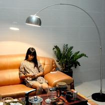北欧式创意现代简约氛围客厅卧室书房立灯LED之非创意遥控落地灯