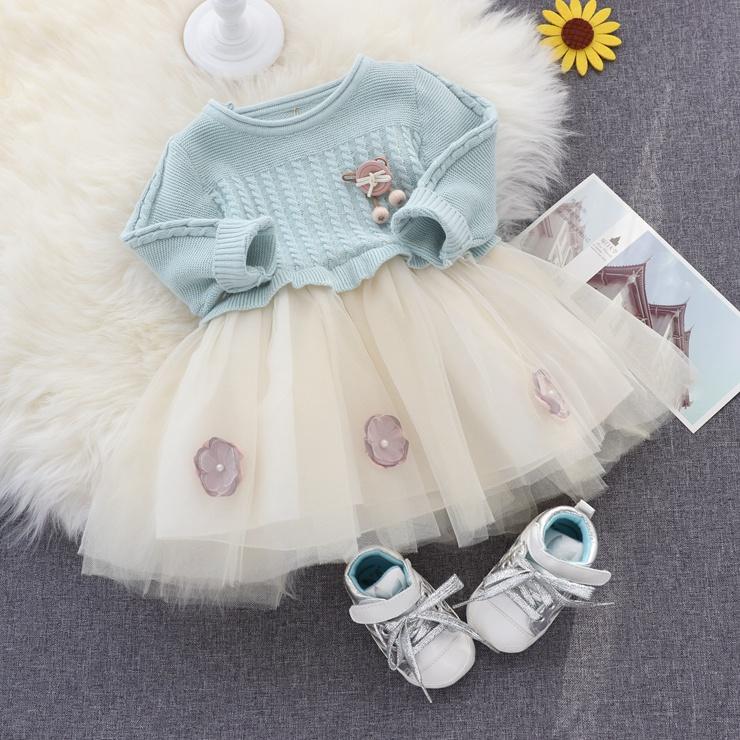 女童毛衣裙子