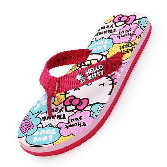 kitty猫沙滩鞋