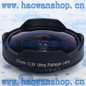 索尼A1C 37mm 0.3倍 摄像机鱼眼镜头 超级广角镜头 DV鱼眼镜头
