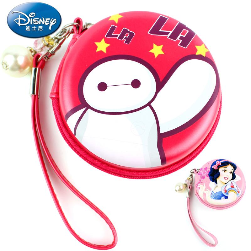 女童零钱包迪士尼白雪公主宝宝小钱包儿童手拎包小学生卡包钥匙包