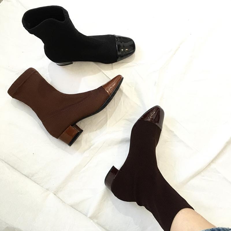 早春女短靴