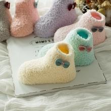 【清仓】儿童袜子秋冬加厚珊瑚绒袜男童女童学步袜宝宝防滑点胶袜
