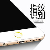 Iphone6 ​​plus button stickers Apple 7 fingerprint stickers to identify Apple 8P mobile phone home button stickers 6S