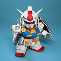 June SD Gundam Pearl Edition-SD RX-78-2 Ver.Ka 3D Paper Mold/Paper Model