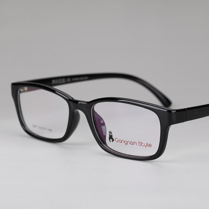 超轻TR90眼镜框 男女潮 近视老花渐进多焦点眼镜架 黑色框配眼镜5元优惠券