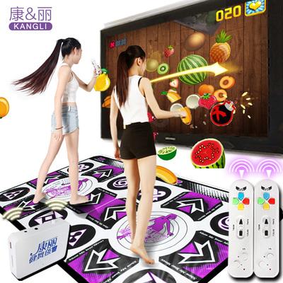 康麗無線跳舞毯雙人高清電腦電視接口體感跑步瘦身游戲跳舞機家用性價比高嗎