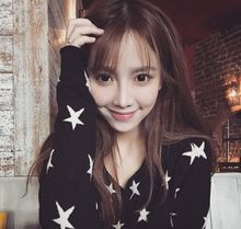 Early autumn knitted cardigan short jacket with cardigan thin black knitted sweater star sweater jacket for self-improvement