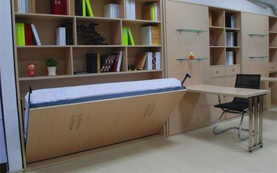 书柜折叠床隐形床旗舰店网址