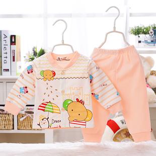 男童装女宝宝春秋装0夏1套装3幼儿童4小孩6婴儿8衣服2岁12个月9潮