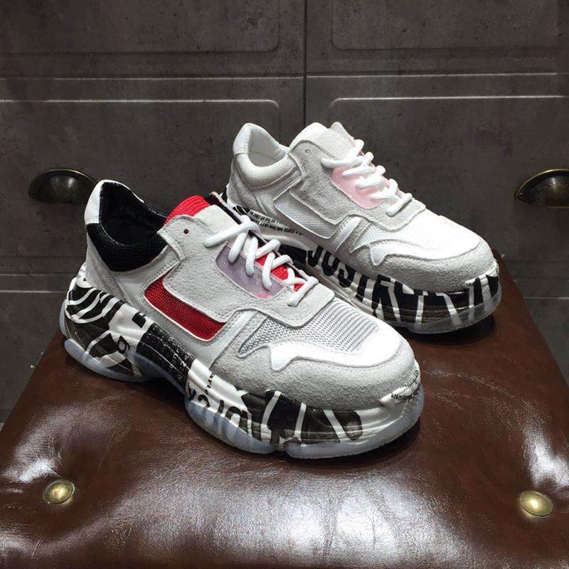 韩国网纱运动鞋