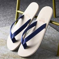 夏季韩版个性潮流休闲人字拖男沙滩鞋男士软底防滑橡胶夹脚凉拖鞋