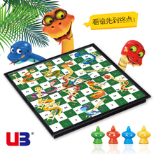 UB Youbang Snake Tier Chess Snake Chess 3D Snake and Ladder Game Magnetic Chess Folding Chess Board Children's Chess Toy Chess