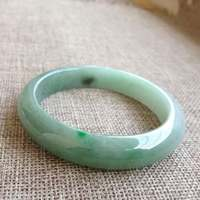 A cargo Jade bracelets kind of old water good specials old pits kind of jade light green fruit green green 57 circle mouth