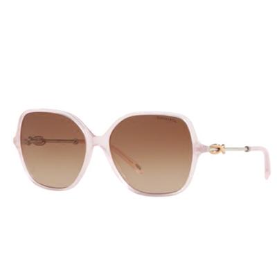 北美正品直邮 TIFFANY女款 时尚粉红 方形太阳眼镜/墨镜 TF4145
