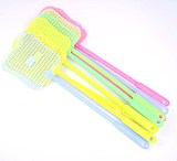 Daily specials 12 fly bats home long handle plastic manual fly swatter fun mosquito pat