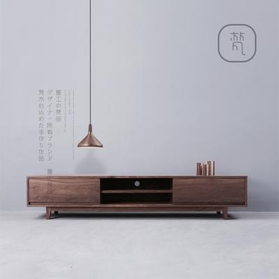 墨工梵品电视机柜现代简约橡木黑胡桃中式客厅简易北欧实木电视柜谁买过的说说
