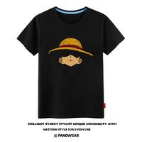 海贼王 乔巴 草帽路飞 罗 艾斯 索隆 动漫周边短袖t恤衣服服装夏