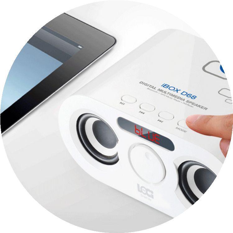 d68无线蓝牙音箱可插卡音响 儿童音乐播放器收音机u盘低音炮