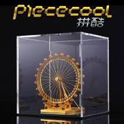 Fight cool box acrylic display box dust box dust cover transparent acrylic box 3mm thick model