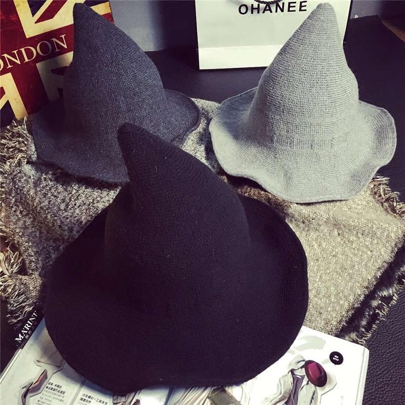 巫师帽子女尖尖