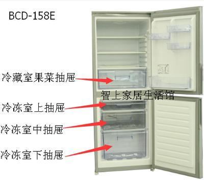 容声BCD-158E冰箱果菜盒,抽屉,储物盒,原厂配件不用量尺寸包邮