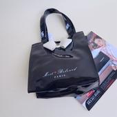 瑕疵出清 小号PVC黑色半透敞口手提女包袋9019 淘特专柜正品