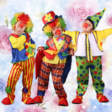 Children's Day Costume Show cosplay masquerade dress dress clown dress children clown set