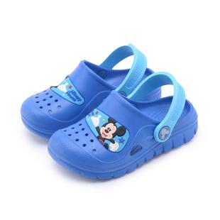 男童凉鞋米奇洞洞鞋防滑沙滩鞋夏季新款透气儿童洞洞鞋宝宝拖鞋潮