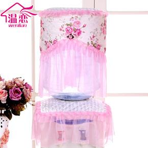 溫戀 飲水機罩 蕾絲田園布藝飲水器罩子 韓式 飲水機套防塵罩