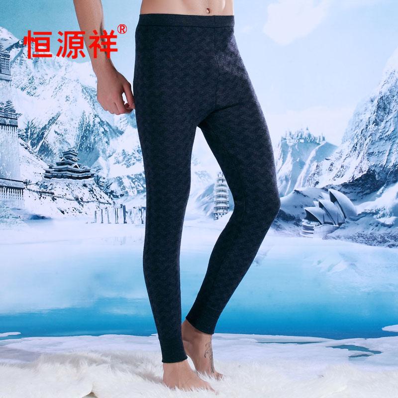 恒源祥羊毛裤男裤