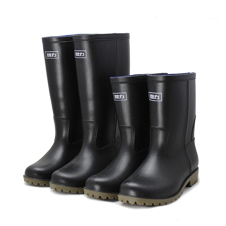 女高筒雨鞋防滑防水靴