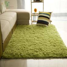馨居加厚可水洗丝毛客厅卧室茶几地毯飘窗床边地垫满铺地毯可定做