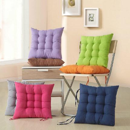 春夏加厚坐垫靠垫办公室保暖增高学生餐椅垫防滑简约座垫包邮垫