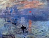 高清喷绘印刷油画印象风景世界名画莫奈客厅餐厅过道挂画Monet141