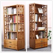 美式乡村置物架复古铁艺架子多层木质原木搁板陈列架组合书架简约