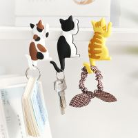 Yunmu groceries cute cat tail hook magnet refrigerator sticker cartoon comet decoration magnetic stickers gift