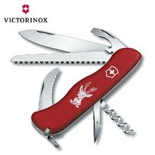 户外防身多功能折叠刀原装维氏瑞士军刀刀具猎手0.8873送礼