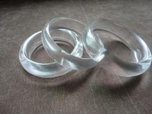 缅甸天然玉石玻璃种水沫玉手镯天然水晶手镯