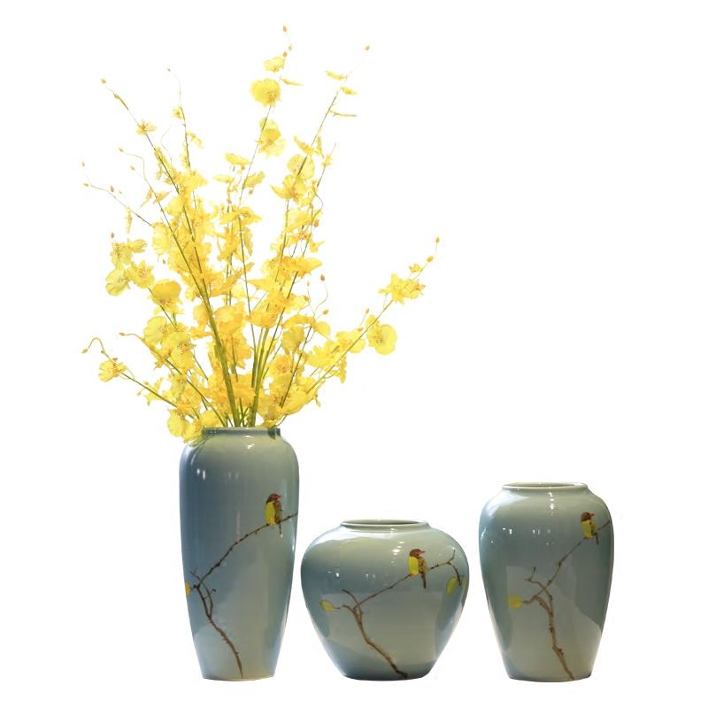 君凯陶瓷新中式陶瓷花瓶