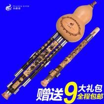 演奏型调大人儿童初学入门B降调C云南葫芦丝紫竹葫芦丝