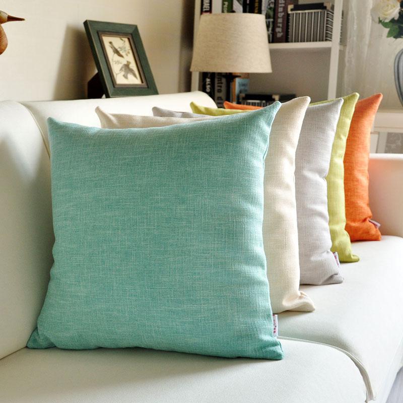 布艺沙发靠垫套