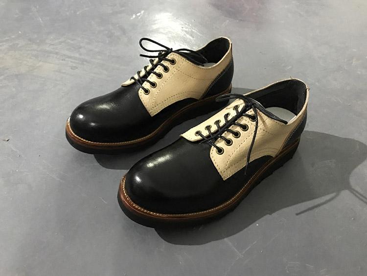 英伦复古牛津鞋低底皮鞋女