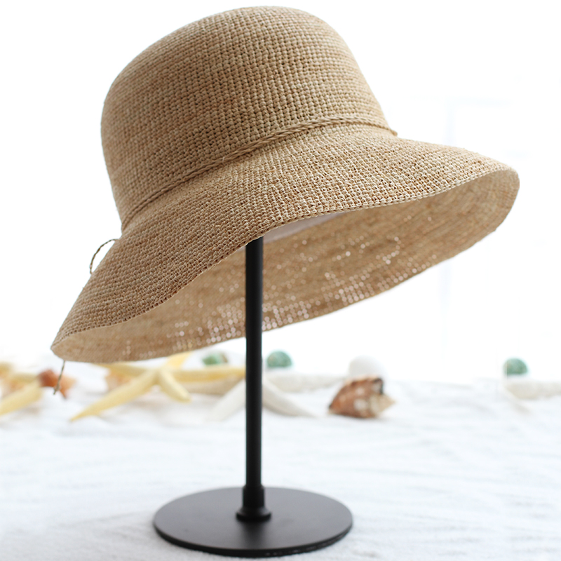 拉菲草帽遮阳草帽
