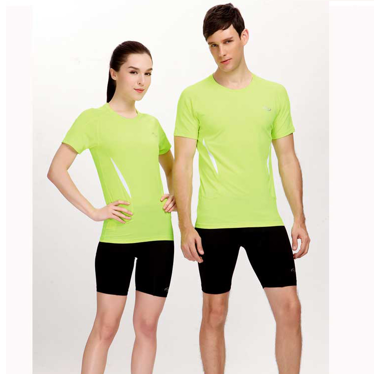 男女款田径服比赛服紧身套装短袖健身运动服学生跑步服训练服印字