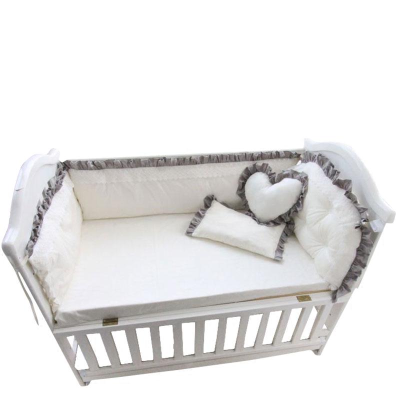 暖苗儿定制宝宝床围床上用品床帏棉花内芯无荧光剂可以拆洗床围子