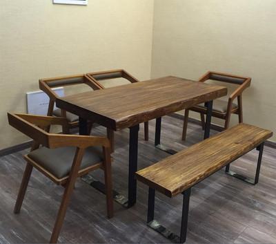 铁艺榆木餐桌哪里便宜