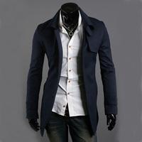 男式大衣修身